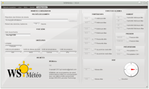 WSMeteo-Configuration