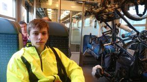 Wagon vélo du TER