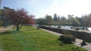 Une écluse sur la Mayenne
