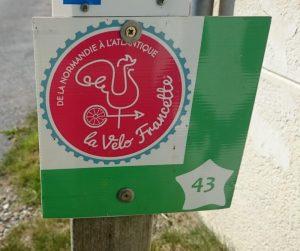 Panonceau Vélo Francette