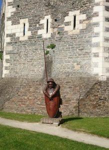 Le garde de la tour d'Oudon